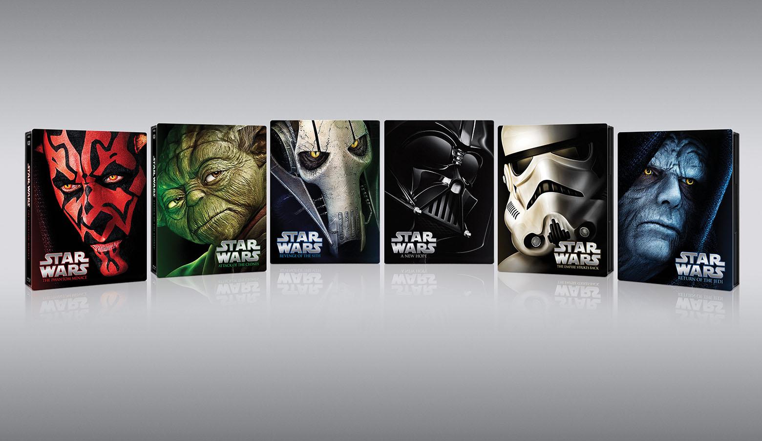 La saga será relanzada en formato steelbooks
