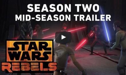 Trailer Mid-Season de Star Wars Rebels