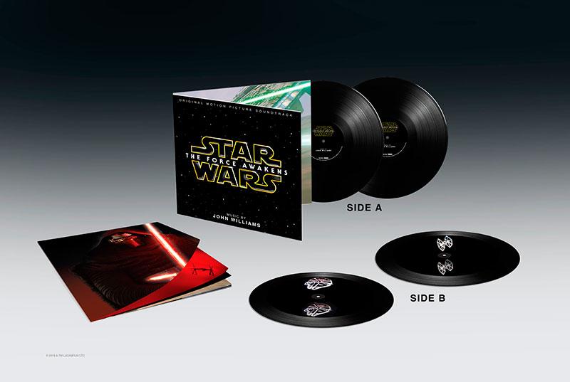 ¡El Despertar de la Fuerza llegará al vinilo y con hologramas!