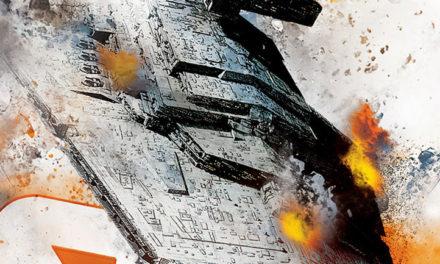 La portada para el cierre de la trilogía Aftermath con Empire's End