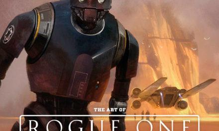 Esta es la portada de El Arte de Rogue One