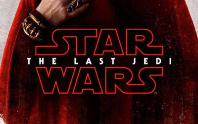 Poster de los personajes de Los Ultimos jedi