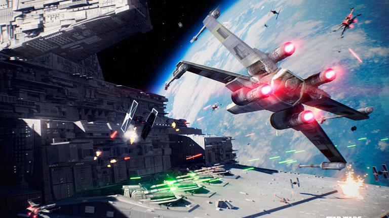 Veremos las batallas de Star Wars Battlefront 2 sobre Fondor