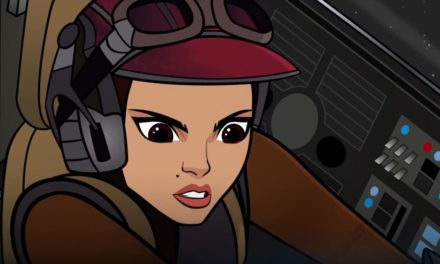 Star Wars Forces of Destiny: The Starfighter Stunt