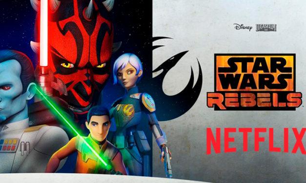 La tercera temporada de Star Wars Rebels llega a Netflix