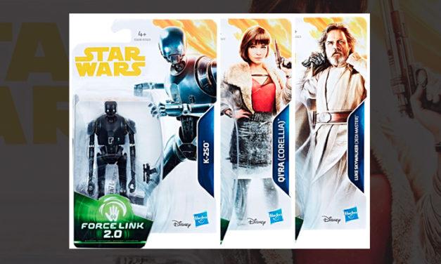 Mira algunos empaques de las figuritas de Han Solo